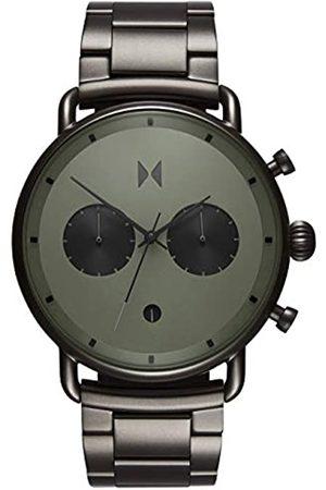 MVMT Reloj Analógico para Hombre de Cuarzo con Correa en Acero Inoxidable D-BT01-OLGU