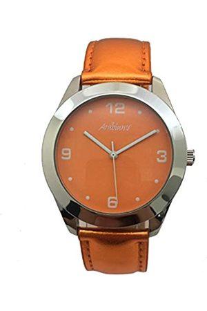 Arabians RelojAnalógicoparaHombredeCuarzoconCorreaenCueroHBA2212C