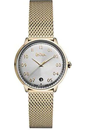 Lee Cooper Reloj Analógico para Mujer de Cuarzo con Correa en Acero LC06992.130