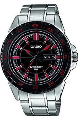 Casio Reloj Analógico para Hombre de Cuarzo con Correa en Acero Inoxidable MTD-1078D-1A1VEF