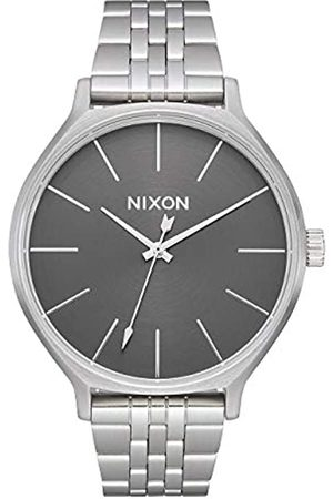 NIXON Mujer Relojes - Reloj Analógico para Mujer de Cuarzo con Correa en Acero Inoxidable A1249-2762-00