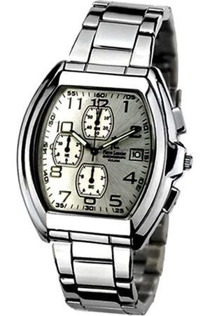 Pierre Lannier 035L121 - Reloj analógico de Cuarzo para Hombre con Correa de Acero Inoxidable
