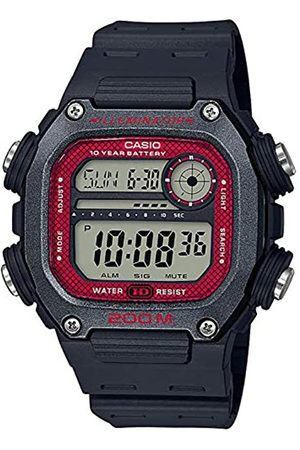 Casio RelojDigitalparadelosHombresdeCuarzoconCorreaenResinaDW-291H-1BVEF