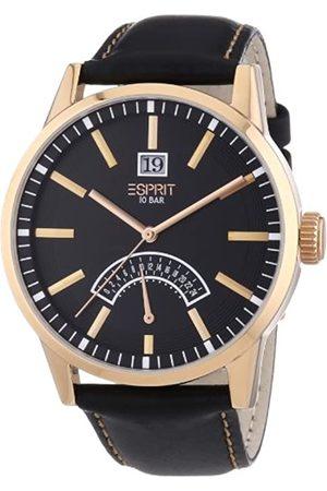 Esprit ES103651004 - Reloj analógico de Cuarzo para Hombre con Correa de Piel