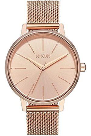 Nixon Reloj Analógico para Mujer de Cuarzo con Correa en Acero Inoxidable A1229-897-00