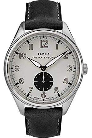 Timex Reloj Analógico para Hombre de Cuarzo con Correa en Cuero TW2R88900