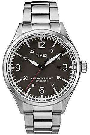 Timex Reloj Analógico para Hombre de Cuarzo con Correa en Acero Inoxidable TW2R38700