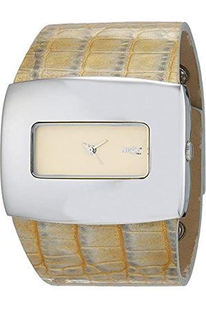 Nice Reloj Análogo clásico para Mujer de Cuarzo con Correa en Cuero 4188/04