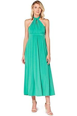 TRUTH & FABLE Marca Amazon - Vestido Maxi Mujer, (Alambra Green)., 36