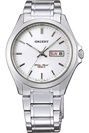 Orient Reloj Analógico para de los Hombres de Cuarzo con Correa en Acero Inoxidable FUG0Q004W6