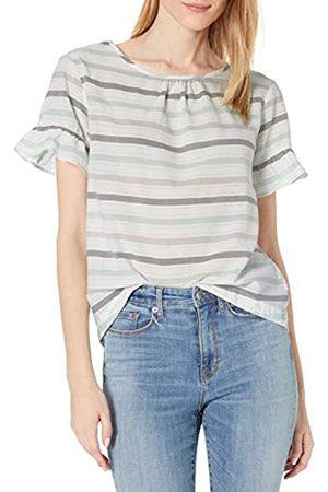 Goodthreads Cotton Dobby Flutter-Sleeve Woven tee Fashion-t-Shirts XL