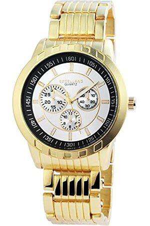Excellanc Excel lanc Herren-Reloj analógico de Pulsera con Mecanismo de Cuarzo 295102500006