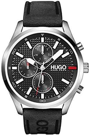 HUGO BOSS RelojAnalógicoparaHombredeCuarzoconCorreaenPieldeBecerrodeCuero1530161
