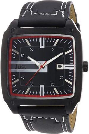 Just Watches 48-S3849BK-RD - Reloj analógico de Cuarzo para Hombre