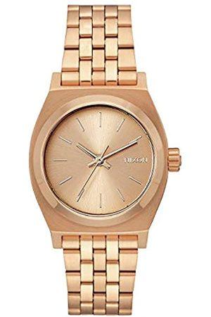 Nixon Reloj Mujer de Analogico con Correa en Chapado en Acero Inoxidable A1130897-00