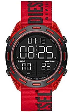 Diesel Reloj Analógico-Digital para Hombre Correa en Acero Inoxidable DZ1916