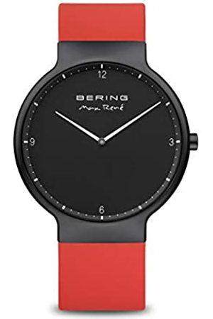 Bering Reloj Analógico para Hombre de Cuarzo con Correa en Silicona 15540-523