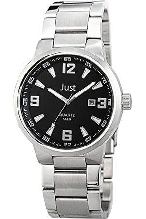Just Watches 48-S10421-BK - Reloj de Pulsera Hombre, Acero Inoxidable