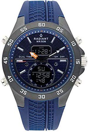 Radiant Reloj anadigit para Hombre de . Colección Kibet. Reloj Gris con Correa de Silicona y Esfera a Tono. 5ATM. 46mm. Referencia RA484701.