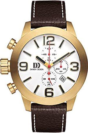 Danish Design Hombre Relojes - DanishDesignRelojAnalógicoparaHombredeCuarzoconCorreaenCueroIQ15Q916