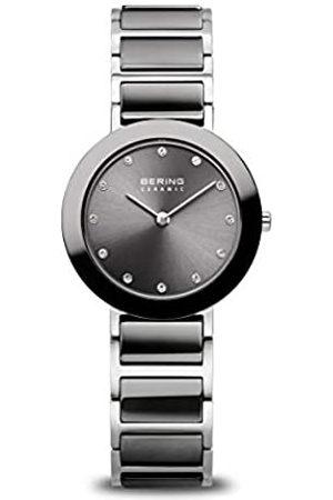 Bering Reloj Analógico para Mujer de Cuarzo con Correa en Acero Inoxidable 11429-783