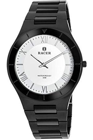 Racer RelojAnalógicoparaHombredeCuarzoconCorreaenAceroInoxidableS500