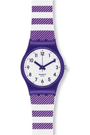 Swatch LV116 - Reloj analógico de Cuarzo Unisex con Correa de Silicona