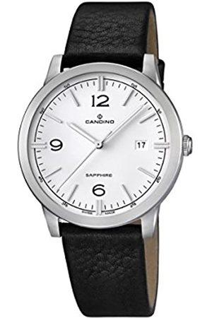 Candino – Reloj con Mecanismo de Cuarzo para Hombre Color Esfera analógica Pantalla y Correa de Cuero C4511/1