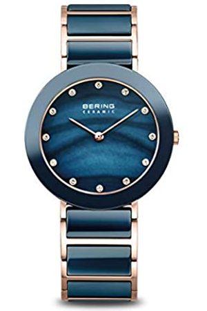 Bering Reloj Analógico para Mujer de Cuarzo con Correa en Acero Inoxidable 11429-767