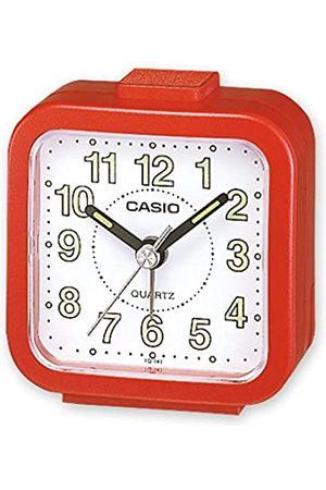 Casio Hombre Relojes - TQ-141-4EF - Reloj despertador analógico, esfera blanca