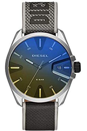Diesel Hombre Relojes - Reloj Analogico para Hombre de Cuarzo con Correa en Nailon DZ1902