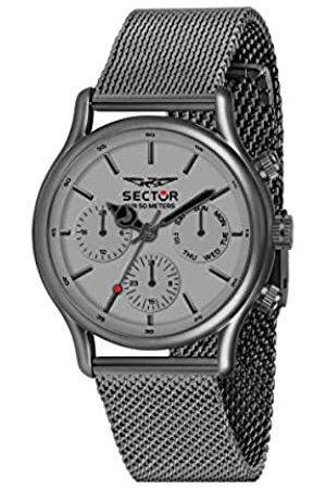Sector No Limits Hombre Relojes - Reloj Analógico para Hombre de Cuarzo con Correa en Acero Inoxidable R3253517013