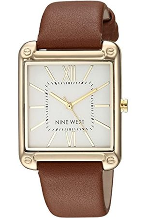 Nine West Mujer Relojes - Reloj analógico para Mujeres de Cuarzo japonés NW/2116SVBN