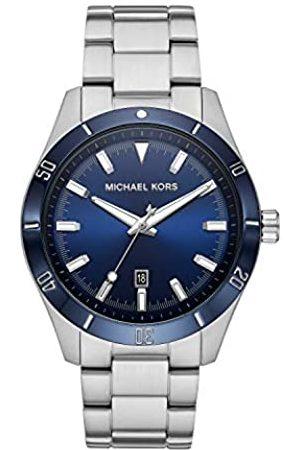 Michael Kors Reloj Analógico para de los Hombres de Cuarzo con Correa en Acero Inoxidable MK8815
