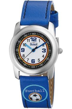Scout 283312302 - Reloj analógico infantil de cuarzo con correa textil - sumergible a 30 metros