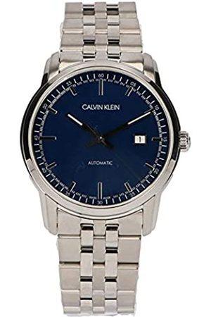 Calvin Klein Reloj Analógico para Hombre de Automático con Correa en Acero Inoxidable K5S3414N