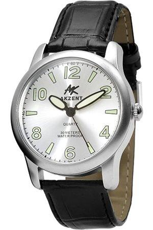 Akzent Acento de Hombre Relojes con Banda de Piel Poliuretano ss7222500016