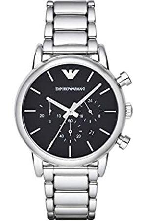 Emporio Armani Reloj Cronógrafo para Hombre de Cuarzo con Correa en Chapado en Acero Inoxidable AR1853