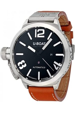 U-BOAT Classico 53 A 925 Nero 2089 - Reloj de Pulsera para Hombre (analógico