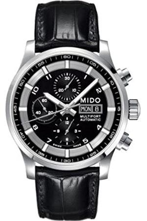 MIDO Reloj Multiesfera para Hombre de Automático con Correa en Cuero M005.614.16.057.21