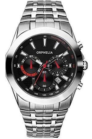 ORPHELIA Reloj cronógrafo para Hombre de Cuarzo con Correa en Acero Inoxidable OR53790148