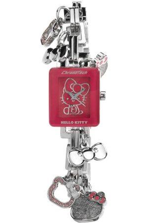 Hello Kitty Reloj Analógico para Mujer de Cuarzo con Correa en Acero Inoxidable 146G628