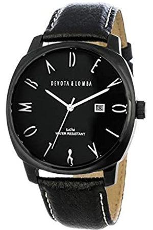 Devota & Lomba Devota & Lomba Reloj Analog-Digital para Mens de Automatic con Correa en Cloth S0334168
