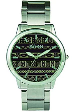XTRESS RelojAnalógicoparaHombredeCuarzoconCorreaenAceroInoxidableXAA1032-50