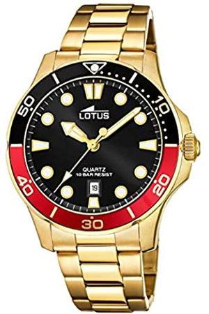Lotus RelojAnalógicoparaHombredeCuarzoconCorreaenAceroInoxidable18761/6