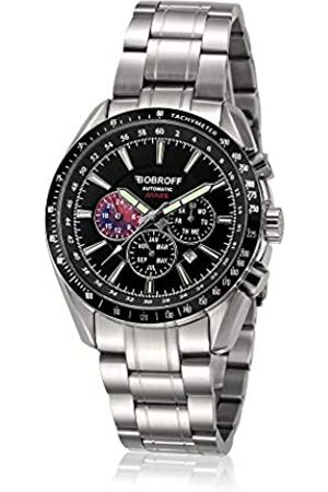 BOBROFF Reloj Analogico para Hombre Automatico con Correa En Acero BF0011
