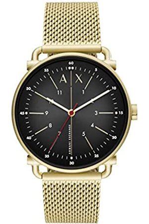 Armani Reloj Analógico para Hombre de Cuarzo con Correa en Acero Inoxidable AX2901