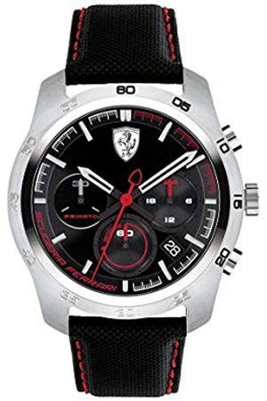 Scuderia Ferrari Reloj Cronógrafo para Hombre de Cuarzo con Correa en Cuero 830444