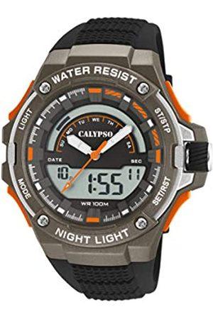 Calypso Reloj Analógico-Digital para Hombre de Cuarzo con Correa en Plástico K5768/2
