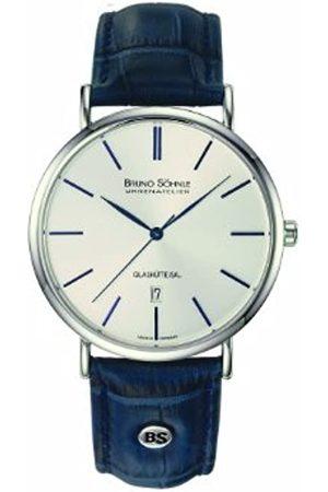 Bruno Söhnle 17-13085-243 - Reloj analógico de Cuarzo para Hombre con Correa de Piel